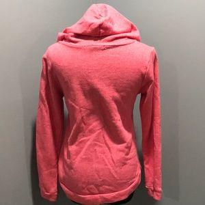 Tops - Love hoodie sz s with blue rhinestones